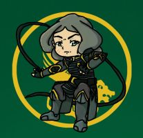 Chibi Beifong by Time-Paladin