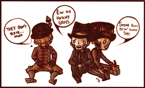 Hatchy's Friends by AgentSpax