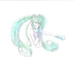 Request~ Boxer Miku by Shane-Twilight