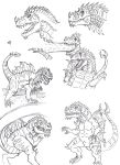 Tyrannogonos Sketches 01 by Almaster09