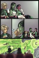Green Lantern Corps pg.3 by AdamWithers