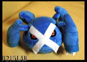 Metagross plush by d215lab