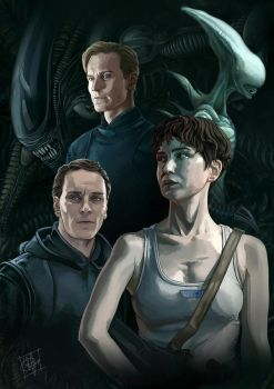 Alien Covenant by clefchan