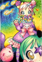 Magical Ribbon Parade by GABBER-princess