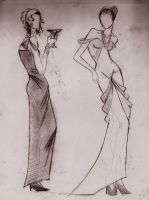 Fancy and Dress by Lorredelious