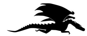Dragon Silhouette by invisibledecoy