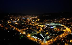 City at Night 7 by hquer