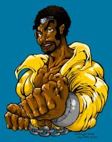 Luke Cage by Kenji-Seay