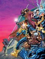 X-Men 01 by pipin
