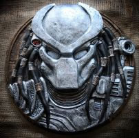 Predator Head sculpture. by Mixta110