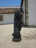 Old Statue I by Hyarmenadan