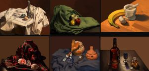 Still life studies by Darantha