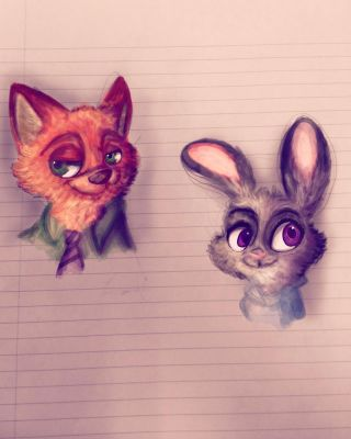 Zootopia by Doodlingloser