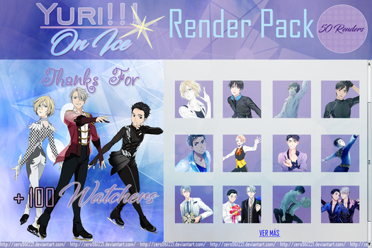 YURI!!! On Ice Render Pack #4 by Zero961221