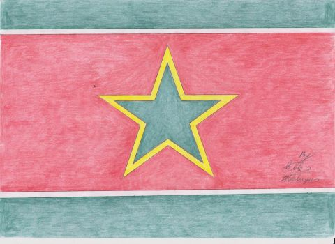 Flag of the Democratic People's Republic of Eden by Kobayev