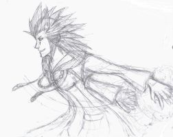 Axel Drawing WIP by fridayivy