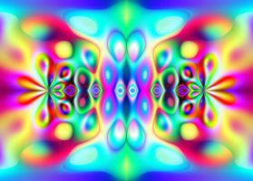 Amazing Abstract Color Rainbow by KirstenStar