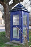 Telephone booth from another time by NicolasZerling
