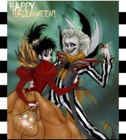 Beetlejuice Halloween by c0rkydawL