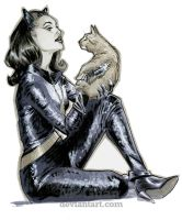 Cat and Kitten by mcguan