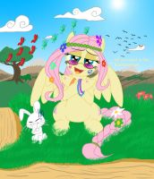 FlutterHippie by Blood-Asp0123