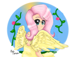 Human FlutterShy by Honey-PawStep