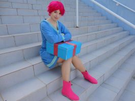 MOTHER 3 - Kumatora cosplay 5 by alandria7