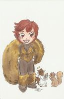 Squirrel Girl by AmberStoneArt