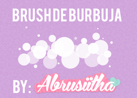 Brush de burbuja by Abrusiitha