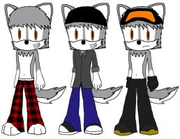 three mees by e-rock95