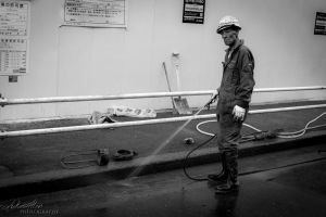 Watering the Concrete by surplu