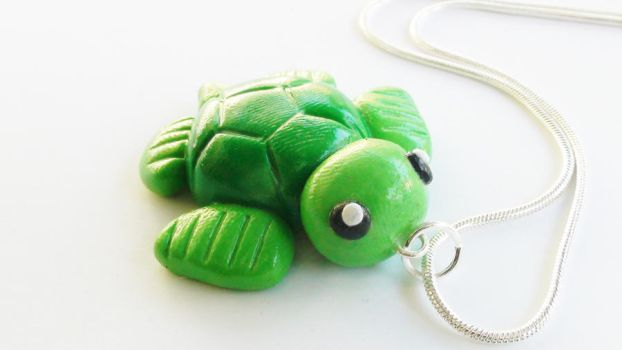 Turtle Necklace by naga-kkw87