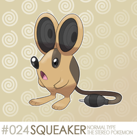 #24 - Squeaker by SirAquakip