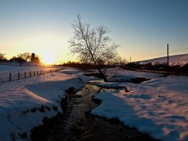 Winter Sunset by Timothy2