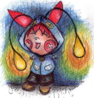 Chinchou Raincoat by Whitewing16