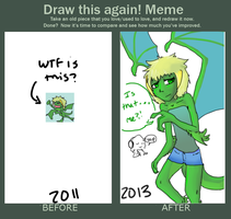 Draw This Again! Meme by DJ-Catsume
