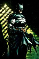 David Finch Batman by dcjosh