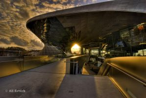Munich, BMW World by alierturk