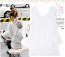 Korea Causal Style WhiteBlous by fashionclothing4u