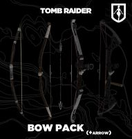 TOMB RAIDER bow pack (+arrow) by doppelstuff