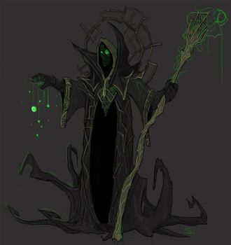 Rubick, the Grand Magus by Halycon450