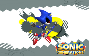 Sonic Generations-Metal Sonic by NIBROCrock