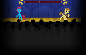 AcoustiMandoBrony Youtube background by SterlingPony