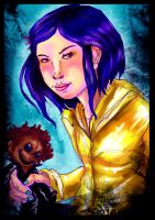 Coraline: Jonesy by jao