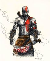 God of War by samurai30