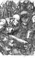 Gears of War by WithLime
