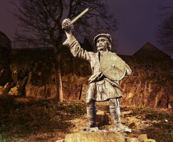 Rob Roy Statue, Stirling by BusterBrownBB