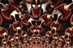 Red chains by FractalDesire