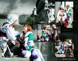 Seattle Cosplay - When Ezio Meet Maverick.... by Seattle-Cosplay