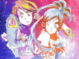 Futari Wa  Pretty Cure Max Heart by magnomalo